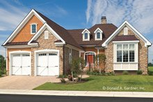 Architectural House Design - Country Exterior - Front Elevation Plan #929-694
