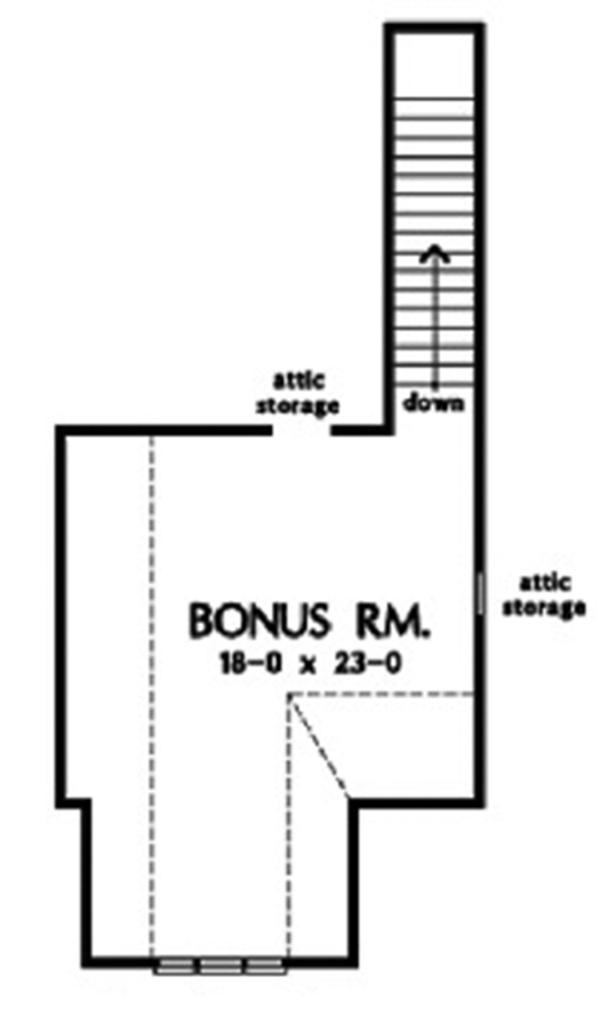 Ranch Floor Plan - Other Floor Plan Plan #929-866
