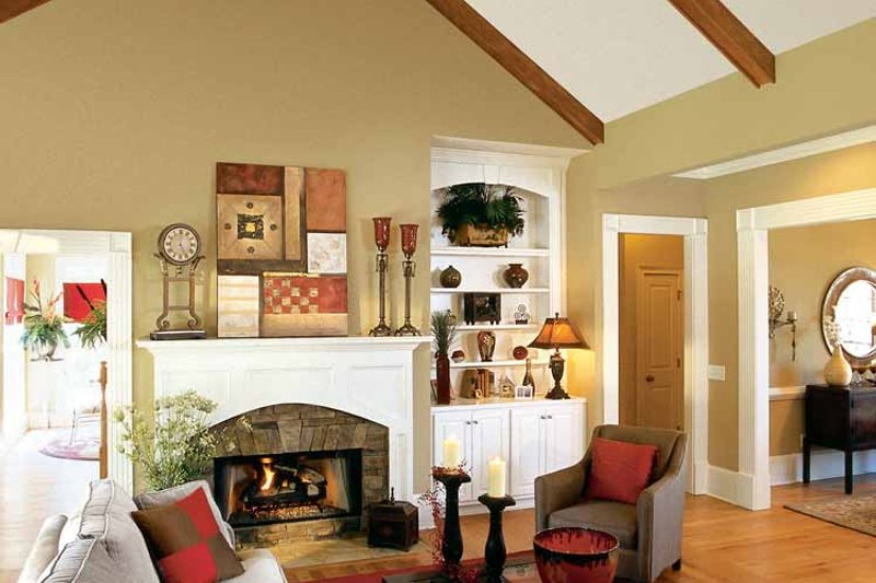 Craftsman Interior - Family Room Plan #927-917 - Houseplans.com