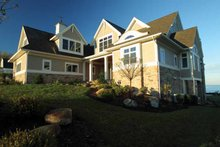 Country Exterior - Front Elevation Plan #928-231