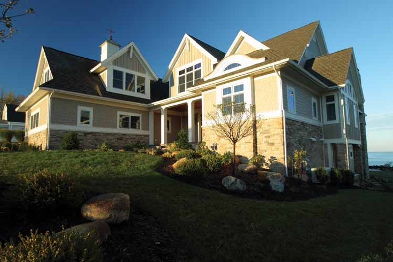 Country Exterior - Front Elevation Plan #928-231 - Houseplans.com