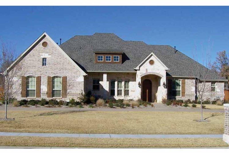 Tudor Exterior - Front Elevation Plan #84-737 - Houseplans.com