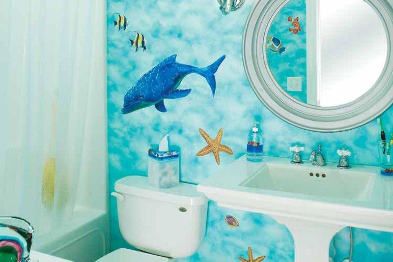 Country Interior - Bathroom Plan #929-755 - Houseplans.com