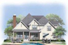 House Plan Design - Traditional Exterior - Rear Elevation Plan #929-564