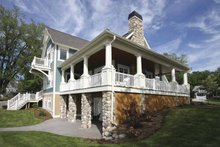 House Plan Design - Traditional Exterior - Other Elevation Plan #928-44