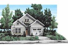 Architectural House Design - Craftsman Exterior - Front Elevation Plan #927-301