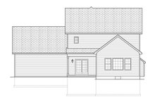 Traditional Exterior - Rear Elevation Plan #1010-123