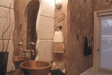 Mediterranean Interior - Bathroom Plan #417-746