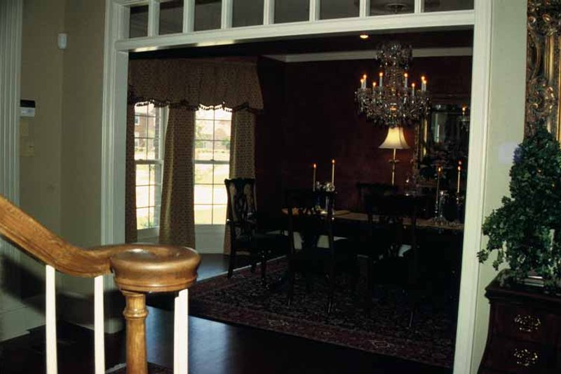 Traditional Interior - Dining Room Plan #17-2629 - Houseplans.com