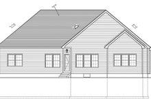 Home Plan - Ranch Exterior - Rear Elevation Plan #1010-81