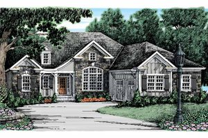 House Plan Design - Country Exterior - Front Elevation Plan #927-911