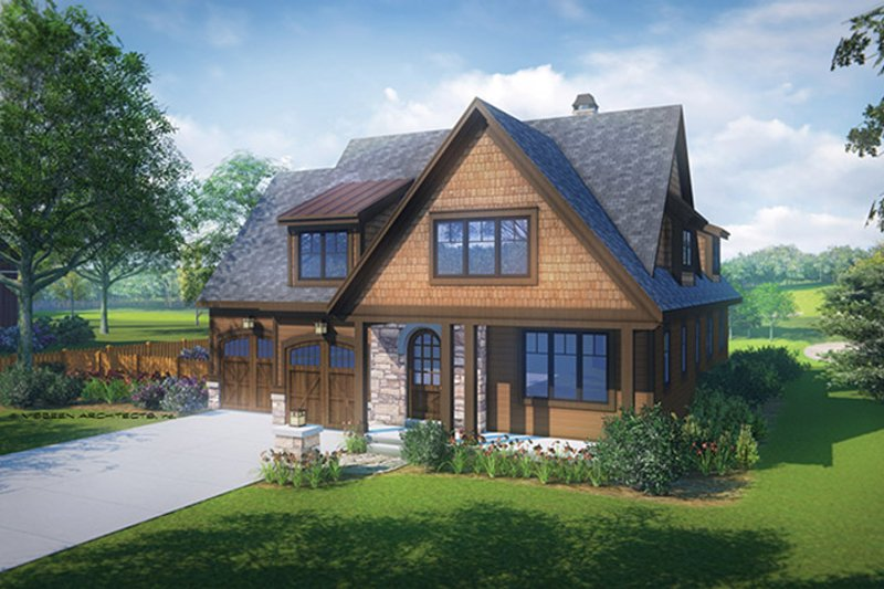 Craftsman Exterior - Front Elevation Plan #928-228 - Houseplans.com