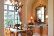 Mediterranean Style House Plan - 4 Beds 5 Baths 5162 Sq/Ft Plan #930-317 Interior - Dining Room