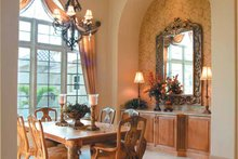 Mediterranean Interior - Dining Room Plan #930-317