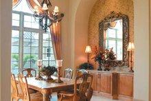 Home Plan - Mediterranean Interior - Dining Room Plan #930-317