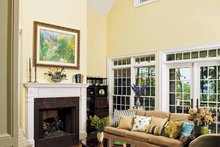 Country Interior - Family Room Plan #929-441