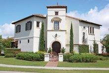 House Design - Mediterranean Exterior - Front Elevation Plan #1058-13