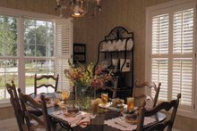 Classical Interior - Dining Room Plan #37-235