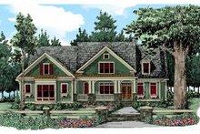 Craftsman Exterior - Front Elevation Plan #927-343