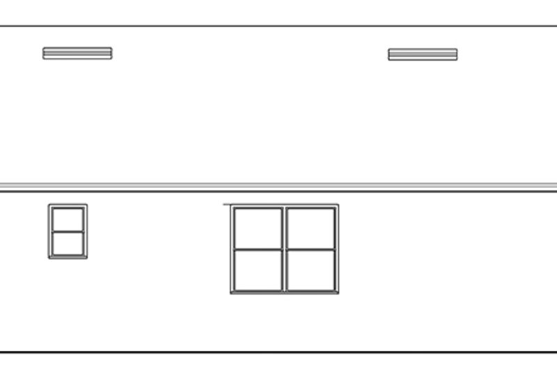 Ranch Exterior - Other Elevation Plan #1058-100 - Houseplans.com