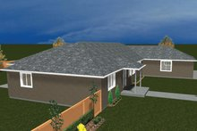 Dream House Plan - Ranch Exterior - Other Elevation Plan #1060-31