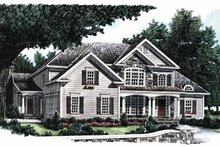 Country Exterior - Front Elevation Plan #927-642