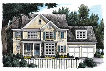 Home Plan - Country Exterior - Front Elevation Plan #927-763