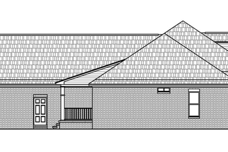 Traditional Exterior - Other Elevation Plan #21-430 - Houseplans.com