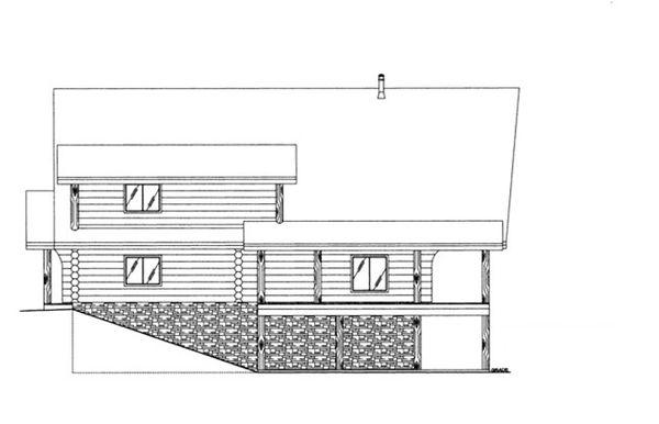 Log Floor Plan - Other Floor Plan Plan #117-826