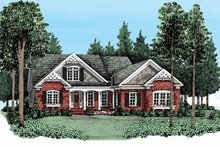 House Plan Design - Country Exterior - Front Elevation Plan #927-371