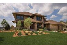 House Plan Design - Prairie Exterior - Front Elevation Plan #51-1126