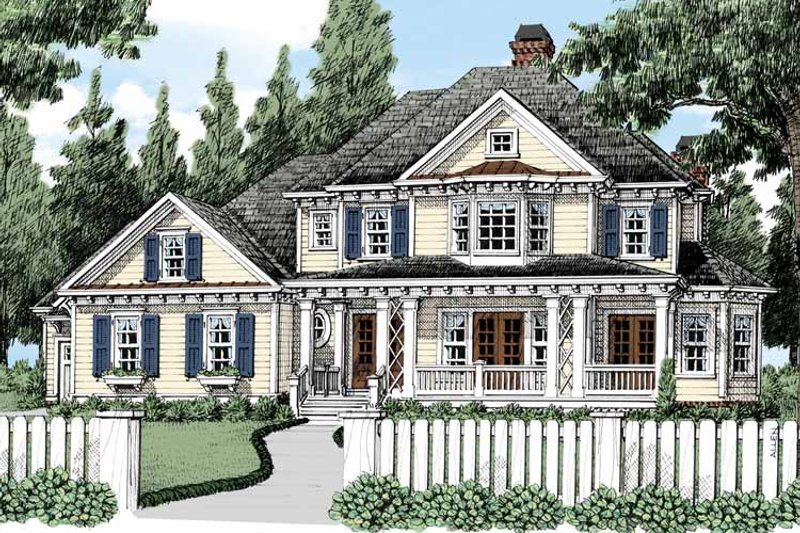 Classical Exterior - Front Elevation Plan #927-483 - Houseplans.com