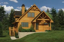 Home Plan - Cabin Exterior - Front Elevation Plan #118-150