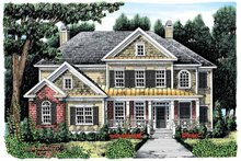 House Plan Design - Colonial Exterior - Front Elevation Plan #927-889