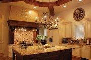 Mediterranean Style House Plan - 5 Beds 5 Baths 7340 Sq/Ft Plan #1058-11 Interior - Kitchen