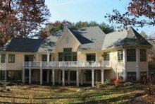 Dream House Plan - European Exterior - Rear Elevation Plan #928-190