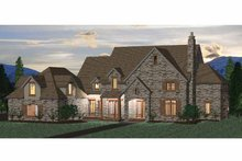 Architectural House Design - Country Exterior - Front Elevation Plan #937-14