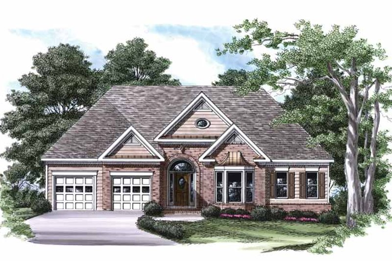 Ranch Exterior - Front Elevation Plan #927-544 - Houseplans.com
