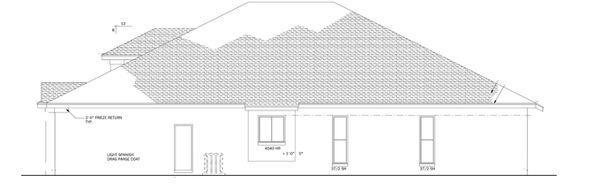Mediterranean Floor Plan - Other Floor Plan Plan #1058-43