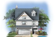 Craftsman Style House Plan - 4 Beds 3 Baths 2793 Sq/Ft Plan #929-986 Exterior - Rear Elevation