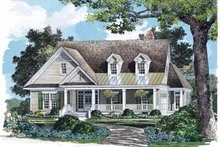 Country Exterior - Front Elevation Plan #929-713