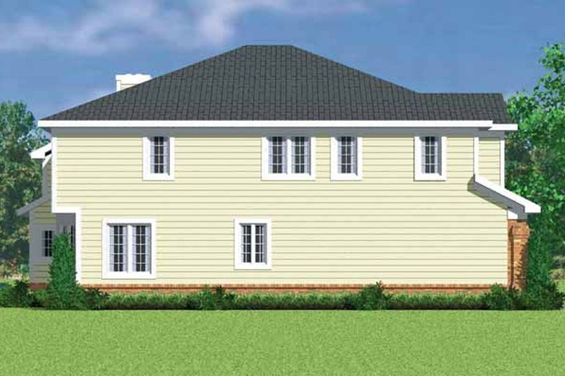 Country Exterior - Other Elevation Plan #72-1124 - Houseplans.com