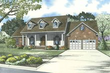Country Exterior - Front Elevation Plan #17-3277