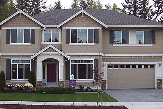 Craftsman Exterior - Front Elevation Plan #951-1