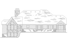 Country Exterior - Rear Elevation Plan #945-32