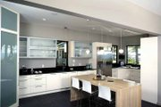 Contemporary Style House Plan - 3 Beds 4.5 Baths 5431 Sq/Ft Plan #928-77 Interior - Kitchen