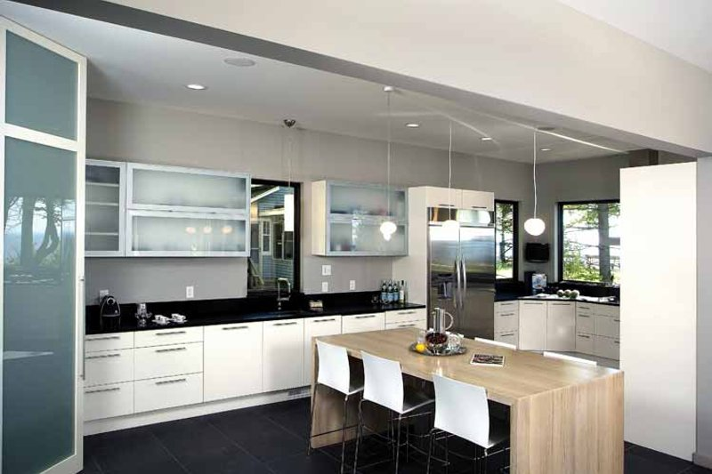 Contemporary Interior - Kitchen Plan #928-77 - Houseplans.com
