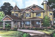 Victorian Exterior - Front Elevation Plan #417-668