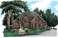 Home Plan - European Exterior - Front Elevation Plan #927-359