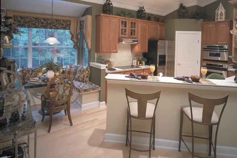 Mediterranean Interior - Kitchen Plan #417-747 - Houseplans.com